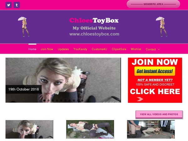 Chloestoybox.com Free Access