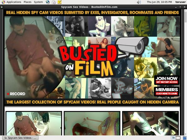 Bustedonfilm Free Trial Promotion