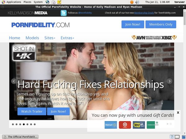 Get Free Porn Fidelity Membership
