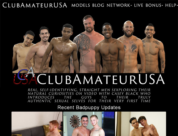 Make Clubamateurusa Account