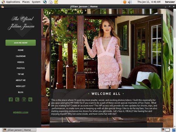 Fresh JillianJanson Site Rip