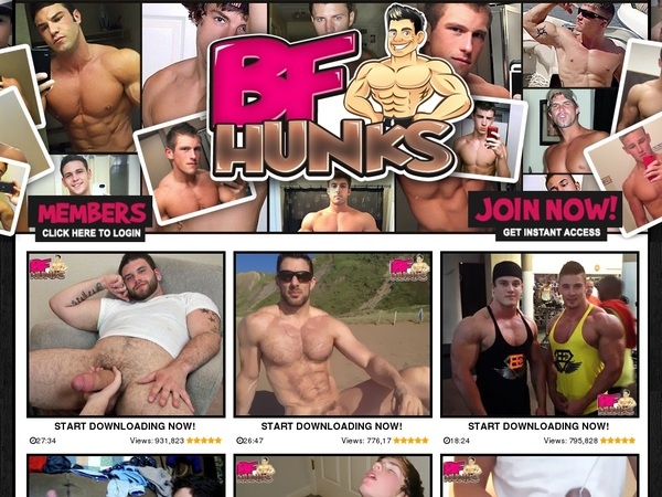 BF Hunks With Trial