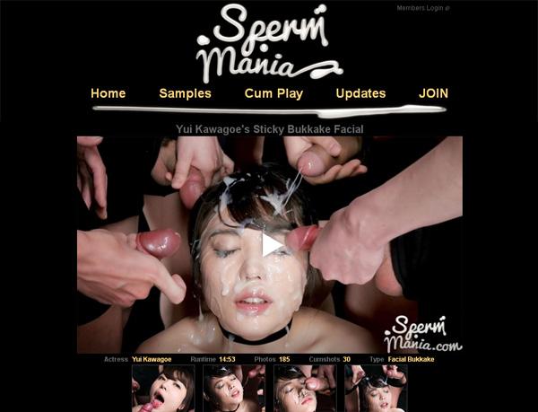 Mania Sperm Sign Up