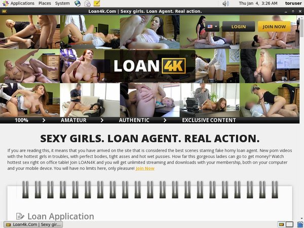 Mobile Loan4k.com Account