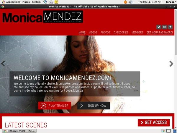 Monica Mendez Freies Konto