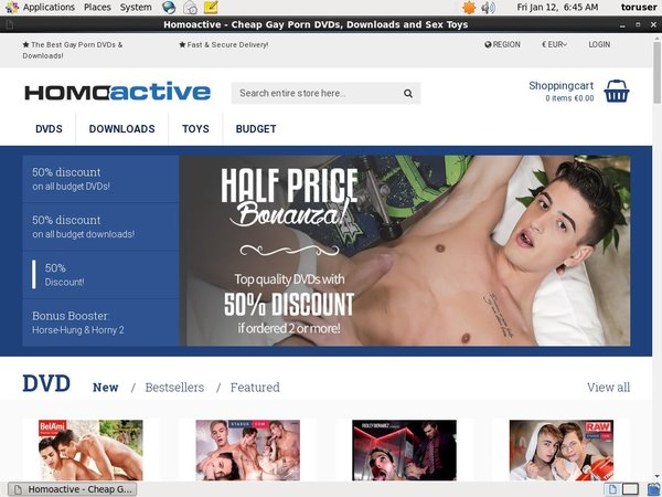 Paypal For Homoactive